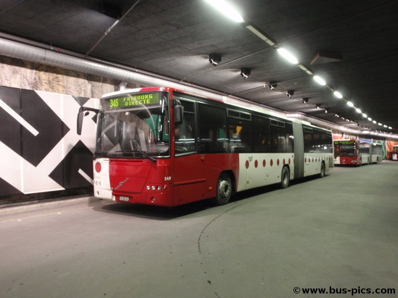 fribourg gare ligne 346 tpf 149 bus pictures. Black Bedroom Furniture Sets. Home Design Ideas