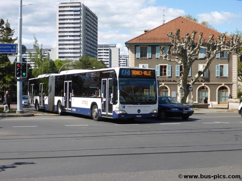 carouge rondeau ligne 45 gen ve tours tpg 929 bus pictures. Black Bedroom Furniture Sets. Home Design Ideas